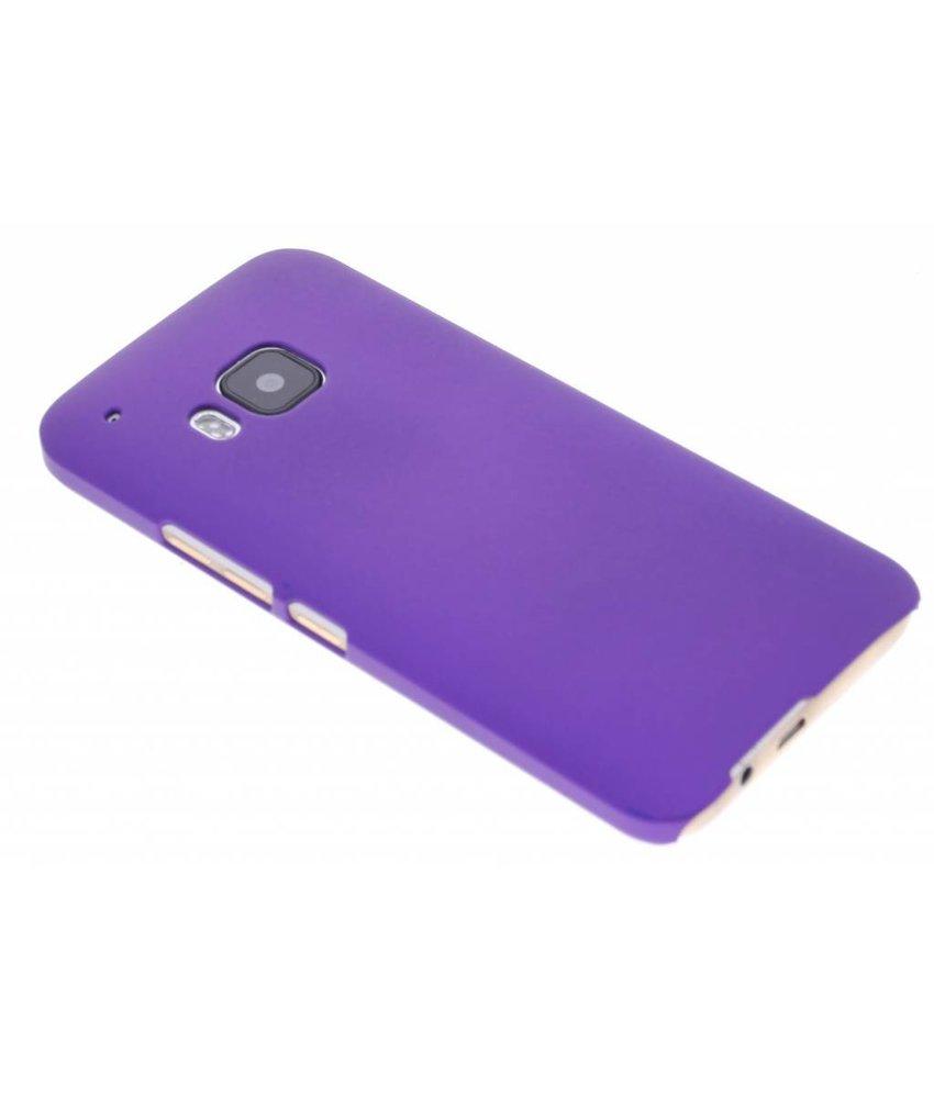 Paars effen hardcase hoesje HTC One M9