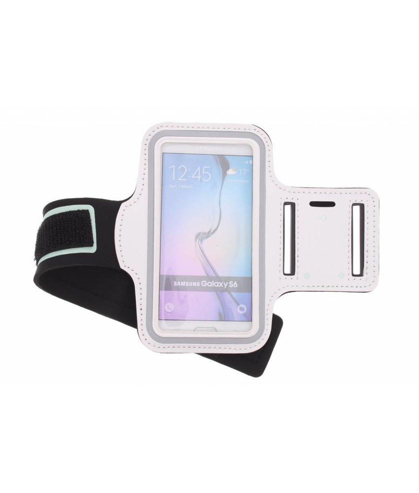 Wit sportarmband Samsung Galaxy S6 / S6 Edge