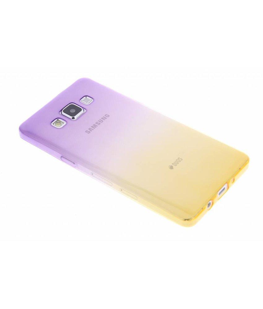 Tweekleurig TPU siliconen hoesje Samsung Galaxy A5