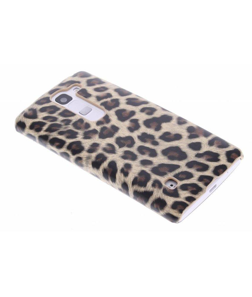 Bruin luipaard design hardcase LG Spirit