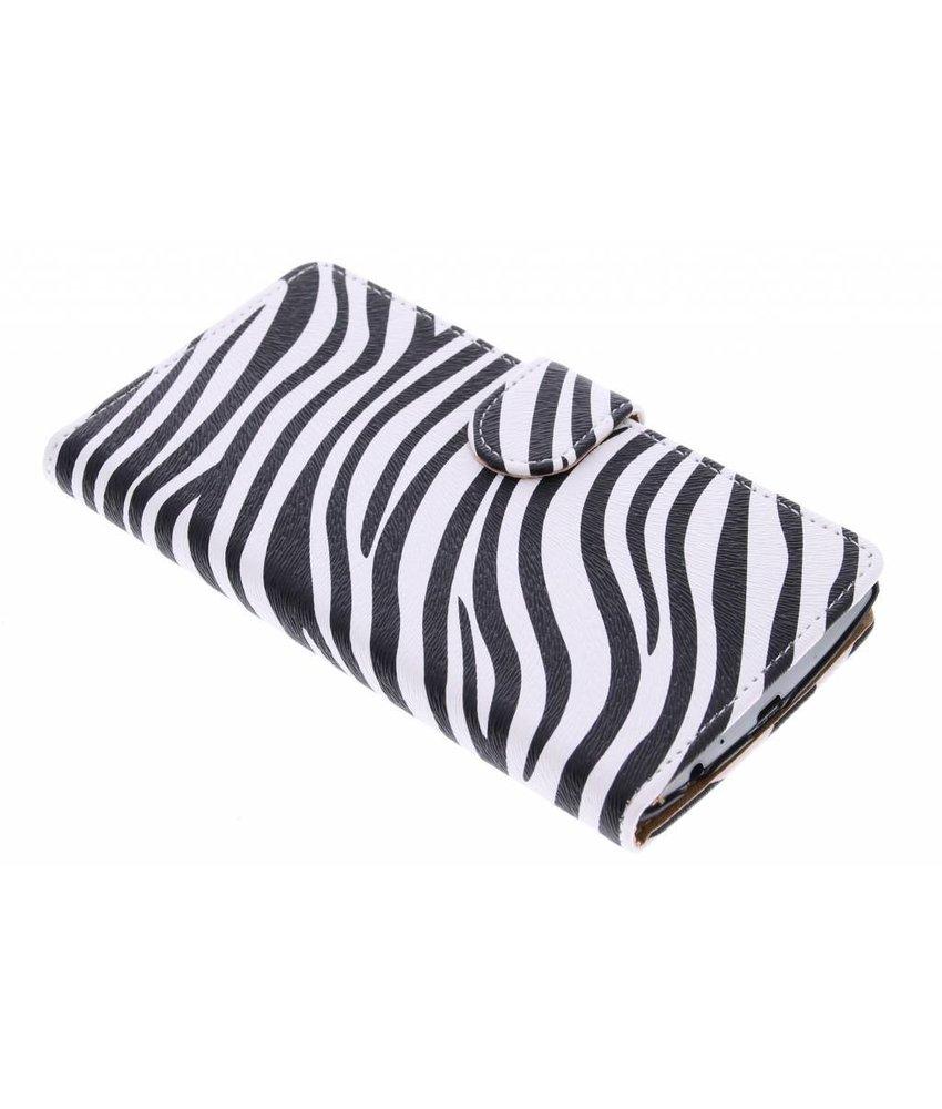 Zebra booktype hoes LG G4
