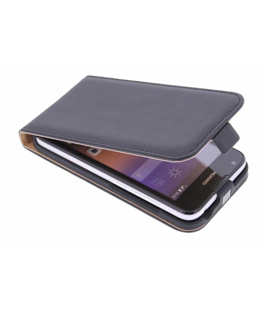 Selencia Luxe Flipcase Huawei Ascend Y550 - Zwart