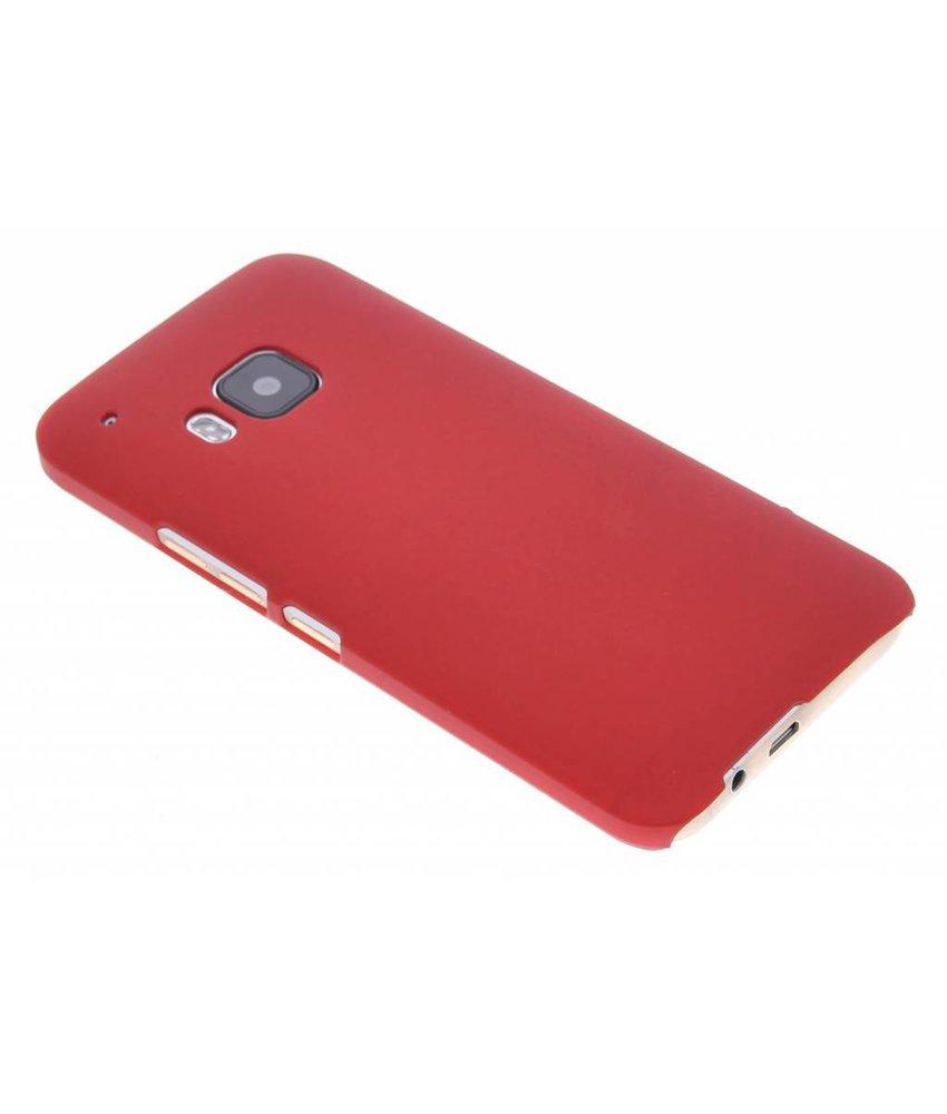 Rood effen hardcase hoesje HTC One M9