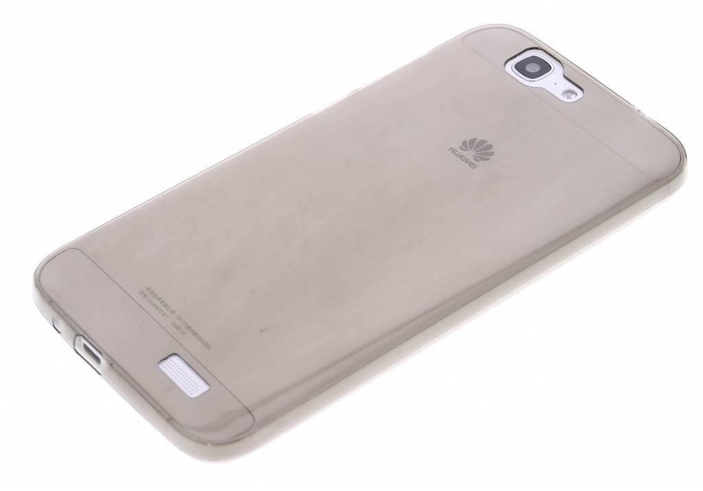 Cas De Gel Gris Transparent Pour Huawei Ascend G7 T4EZPA