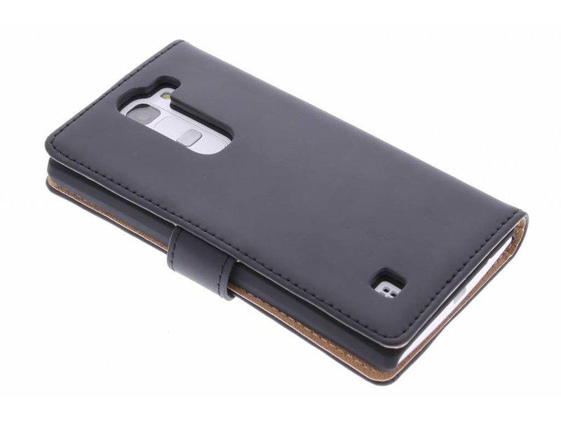 Selencia Luxe Book Case voor de LG Magna / G4c - Zwart