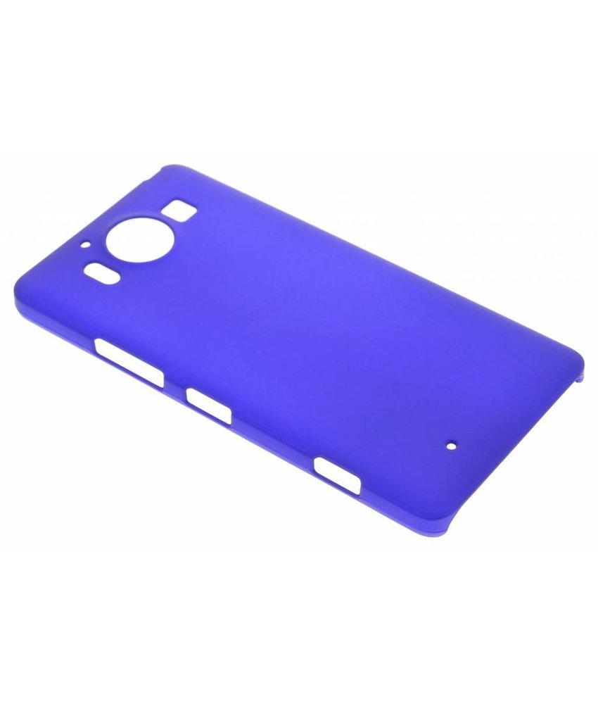 Blauw effen hardcase hoesje Microsoft Lumia 950