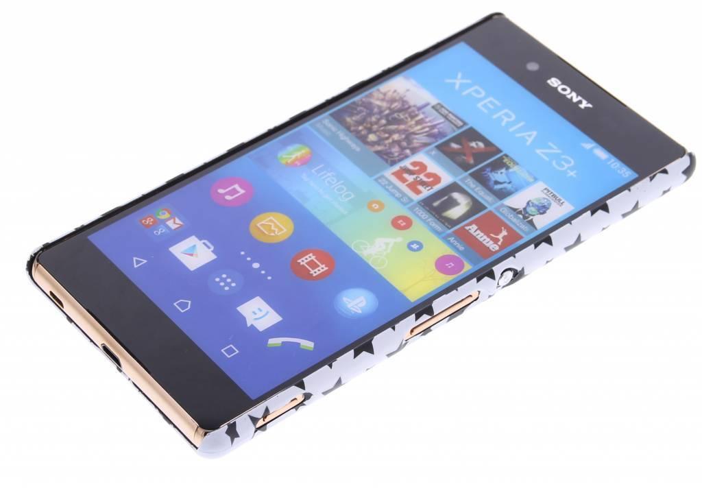 Conception Étoile Blanche Couverture Étui Rigide Pour Sony Xperia, Plus Z3