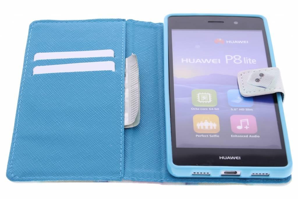 Sourire Conception Booktype Case Tpu Pour Huawei Lite P20 LFcELo0