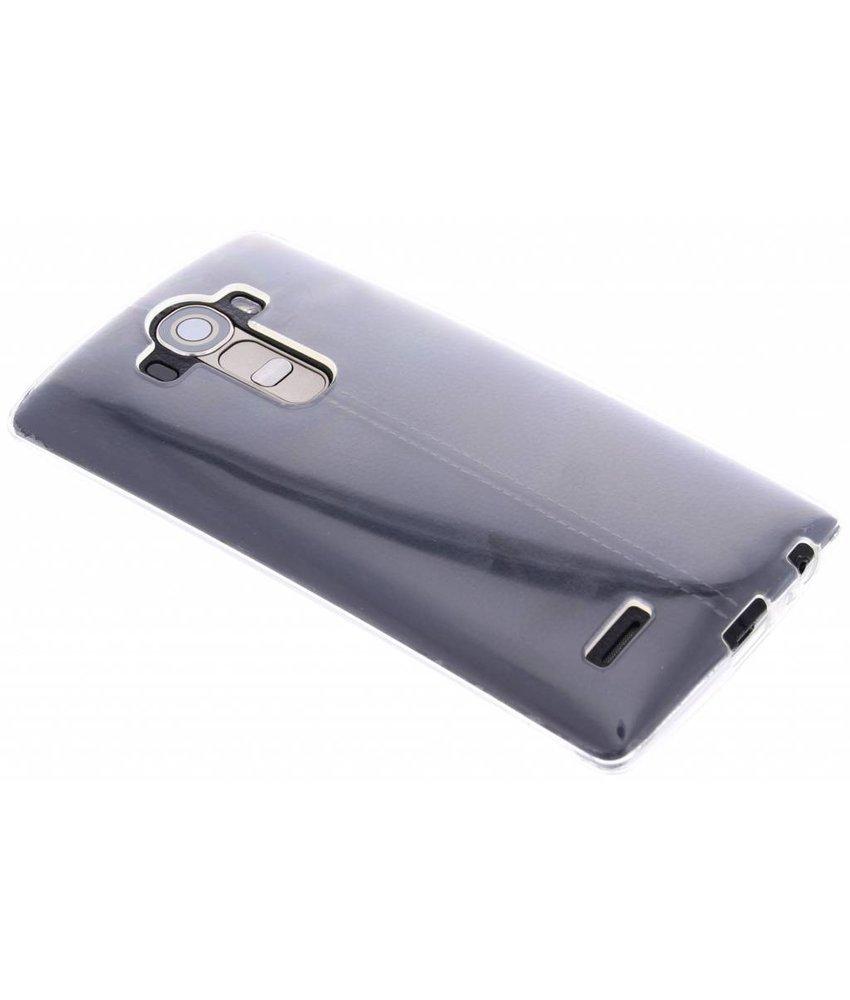 Transparant gel case hoesje LG G4