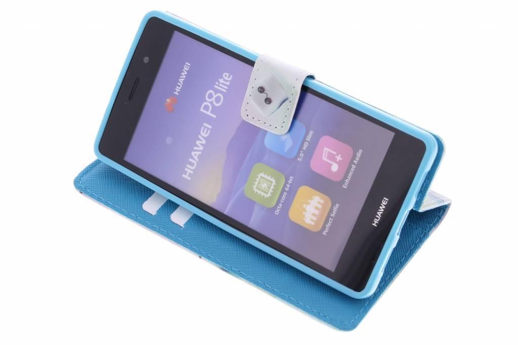 Conception Guimauve Cas Booktype Tpu Pour P9 Huawei, Plus