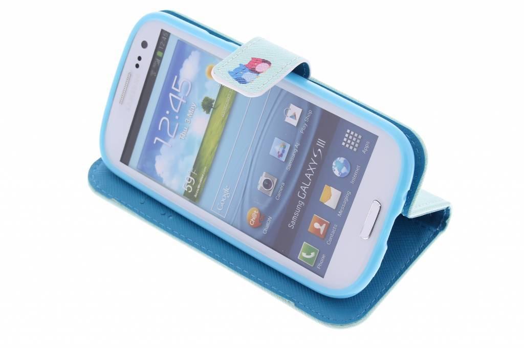 Conception Sourire Cas Booktype Tpu Pour Samsung Galaxy 2 Jeunes uCekW4foSA