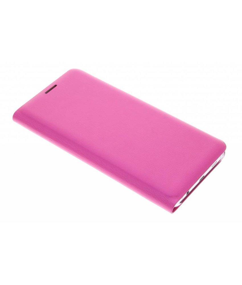 Fuchsia slim booktype hoes Samsung Galaxy S6 Edge Plus