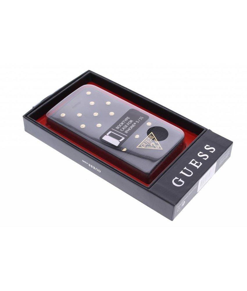 Guess Tessi Folio Case iPhone 5 / 5s / SE - Zwart
