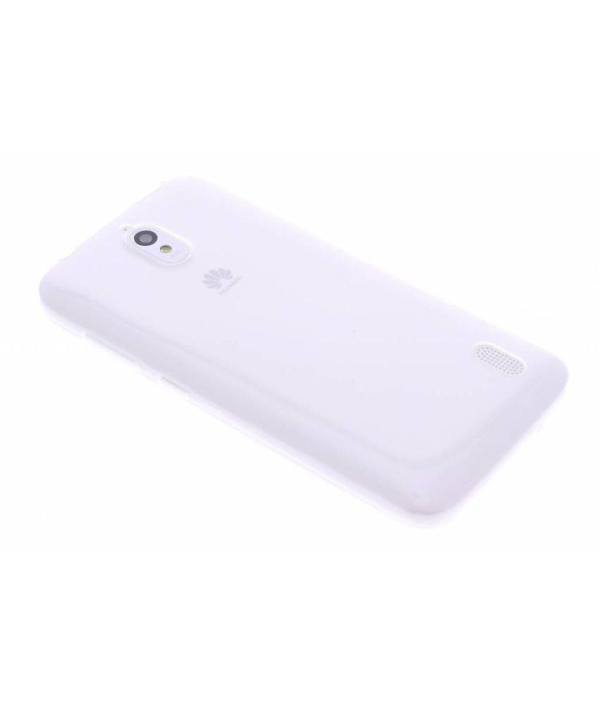 Ultra thin transparant TPU hoesje Huawei Y625