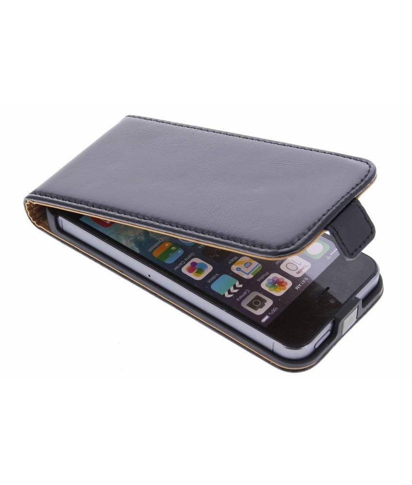 Selencia Luxe lederen Flipcase iPhone 5 / 5s / SE