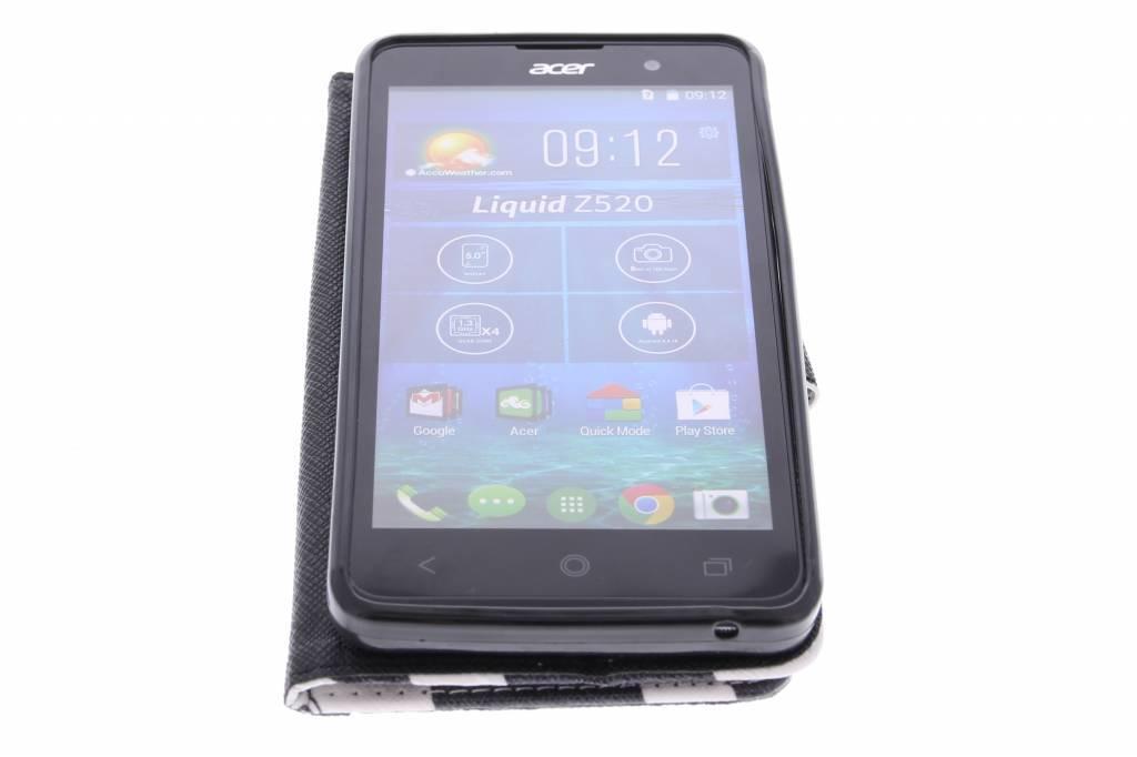 Conception De Zèbre Booktype Tpu Case Pour Acer Liquid Z520 5cjCBn4M