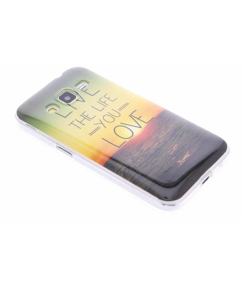Design TPU siliconen hoesje Samsung Galaxy Core Prime
