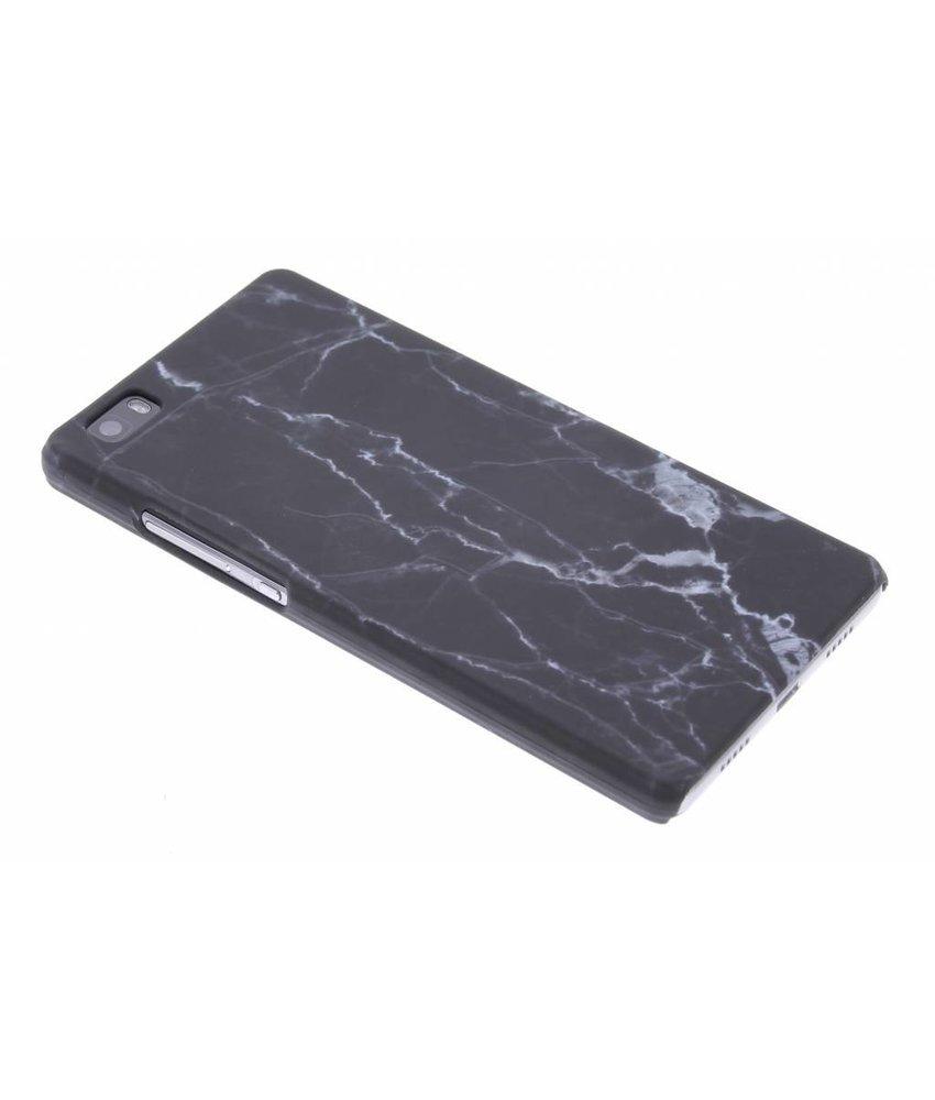 Marmer look hardcase hoesje Huawei P8 Lite