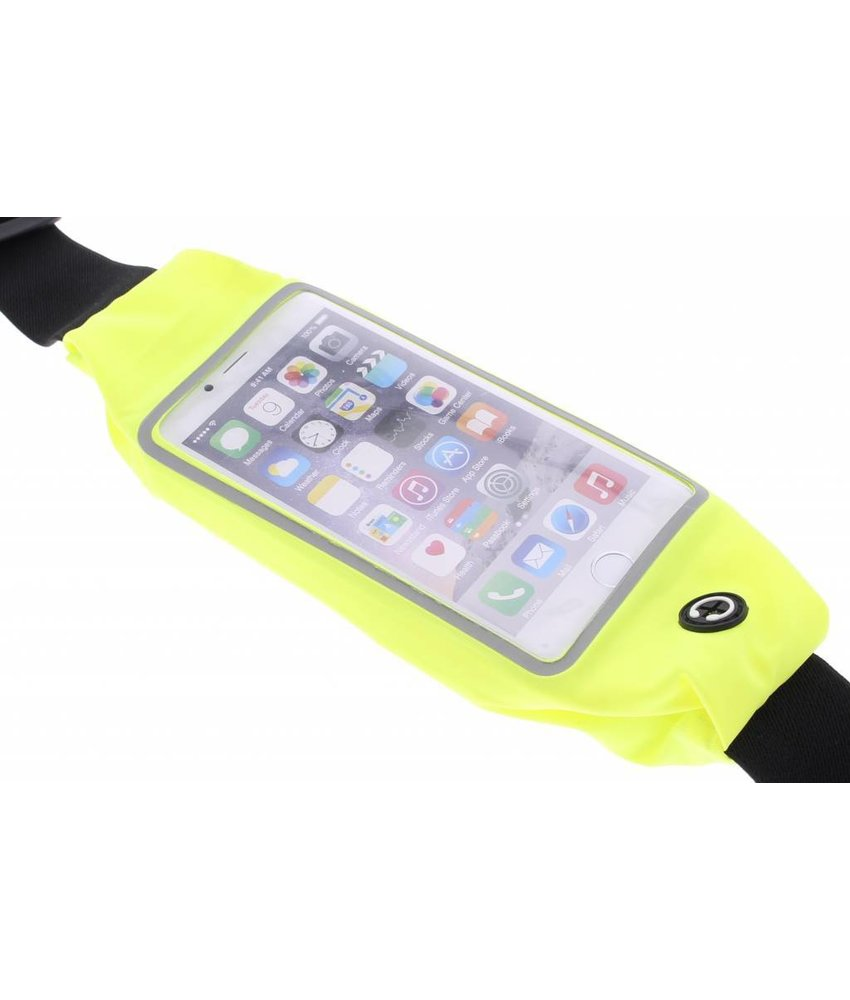 Geel portable sports pouch iPhone 6 / 6s