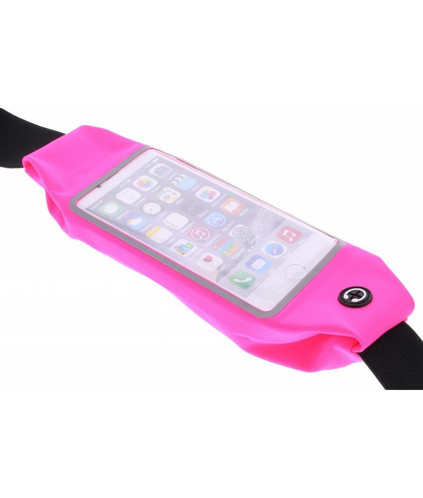 Fuchsia portable sports pouch iPhone 6 / 6s