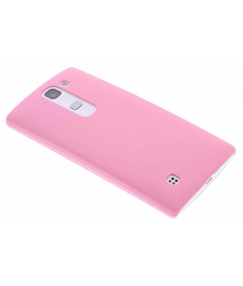Roze effen hardcase hoesje LG Magna / G4c