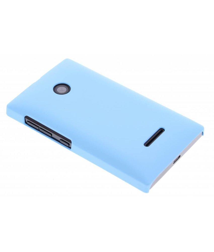 Turquoise effen hardcase hoesje Microsoft Lumia 532