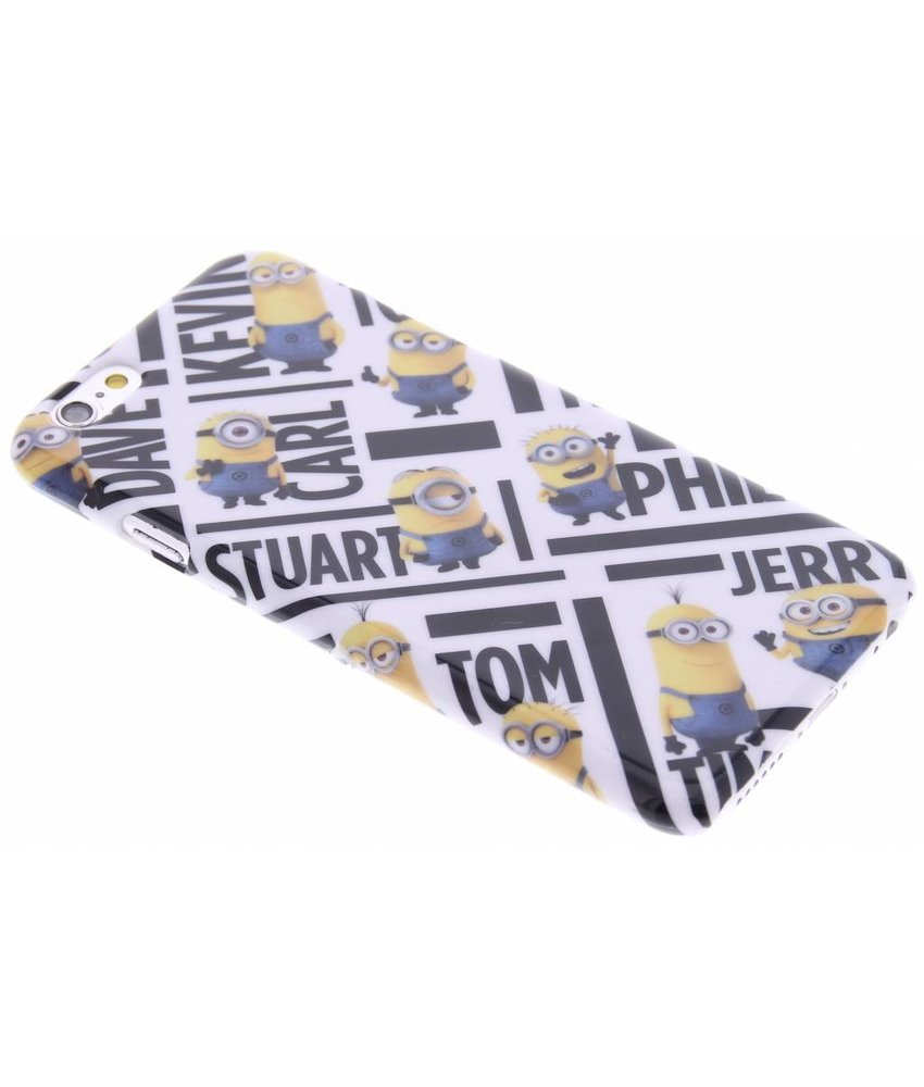 Minions Names hardcase hoesje iPhone 6 / 6s