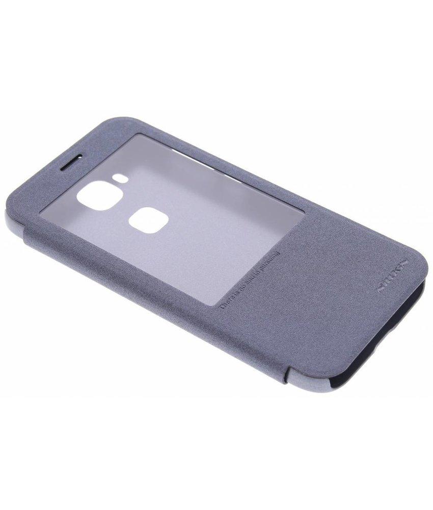 Nillkin Sparkle slim booktype hoes Huawei G8 - Zwart