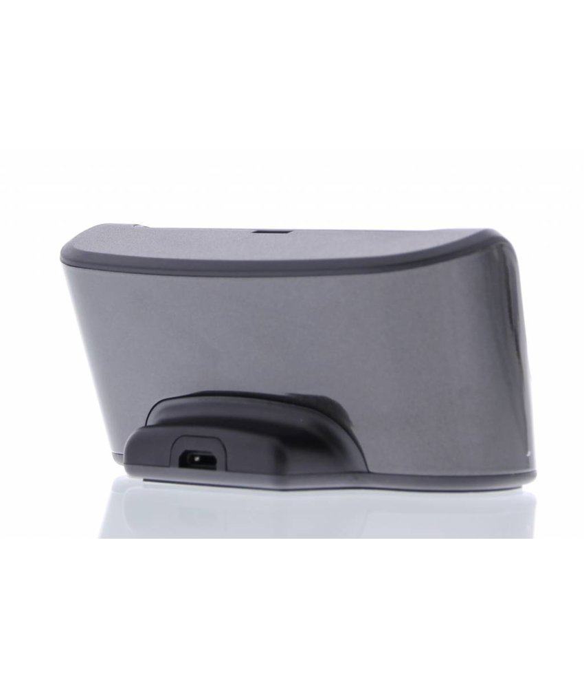 Desktop oplaadstation iPhone 5 / 5s / SE - Zwart