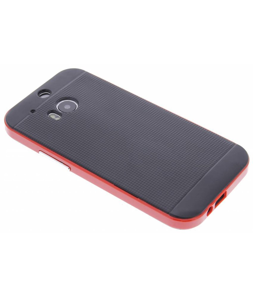 Rood TPU Protect case HTC One M8 / M8s