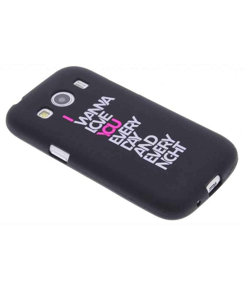 Glow in the dark TPU case Samsung Galaxy Ace 4