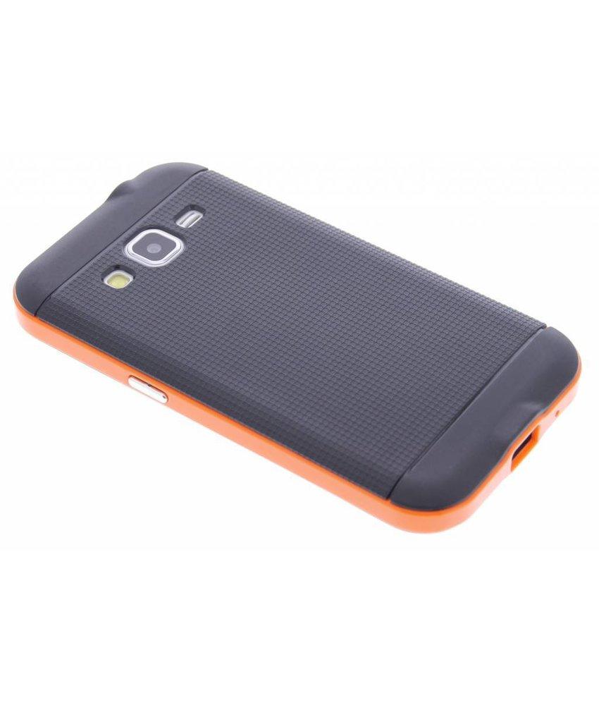 Oranje TPU Protect case Samsung Galaxy Core Prime