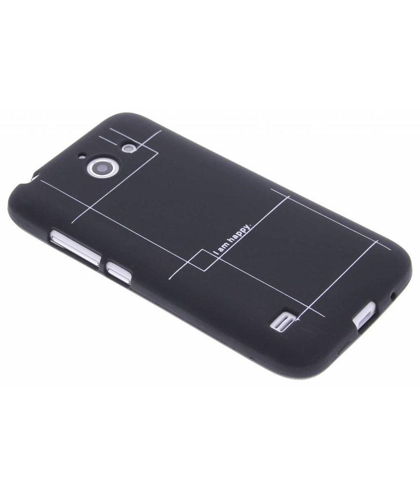 Glow in the dark TPU case Huawei Ascend Y550