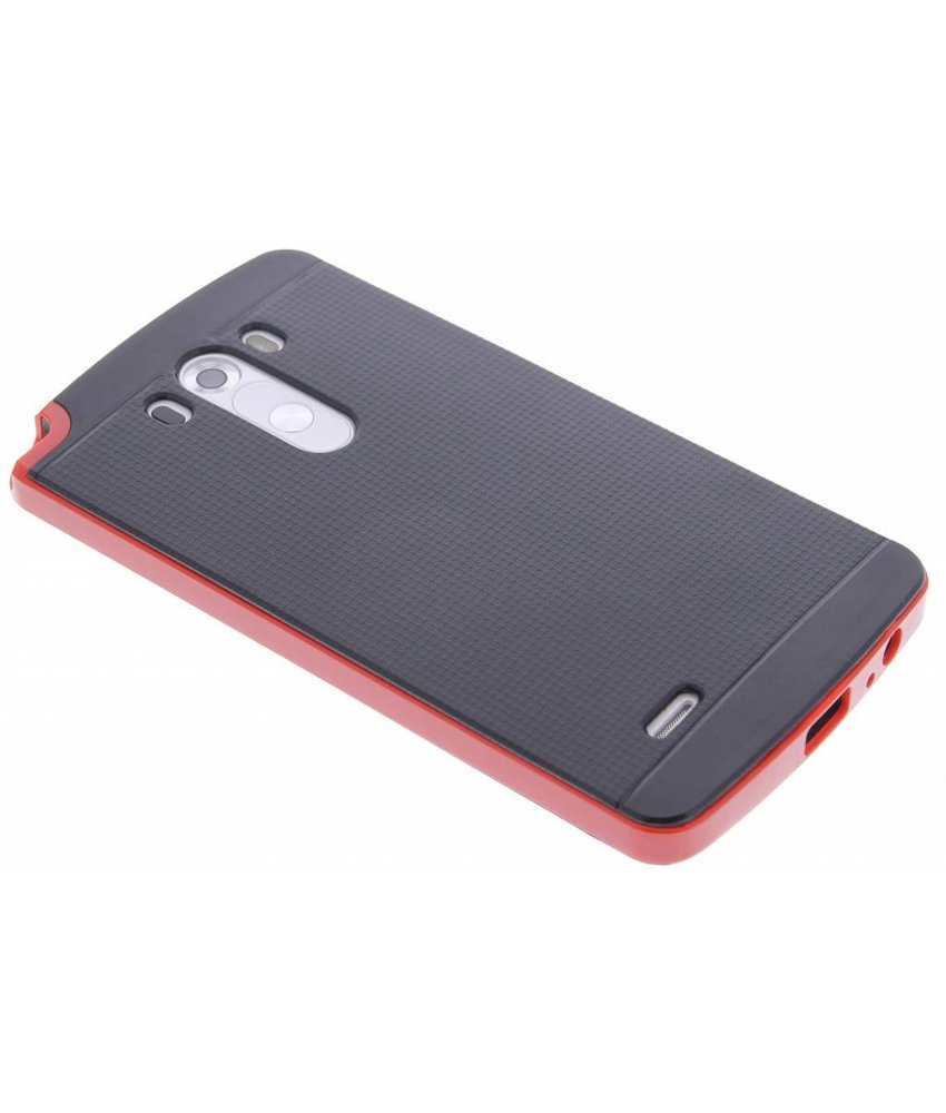 Rood TPU Protect case LG G3
