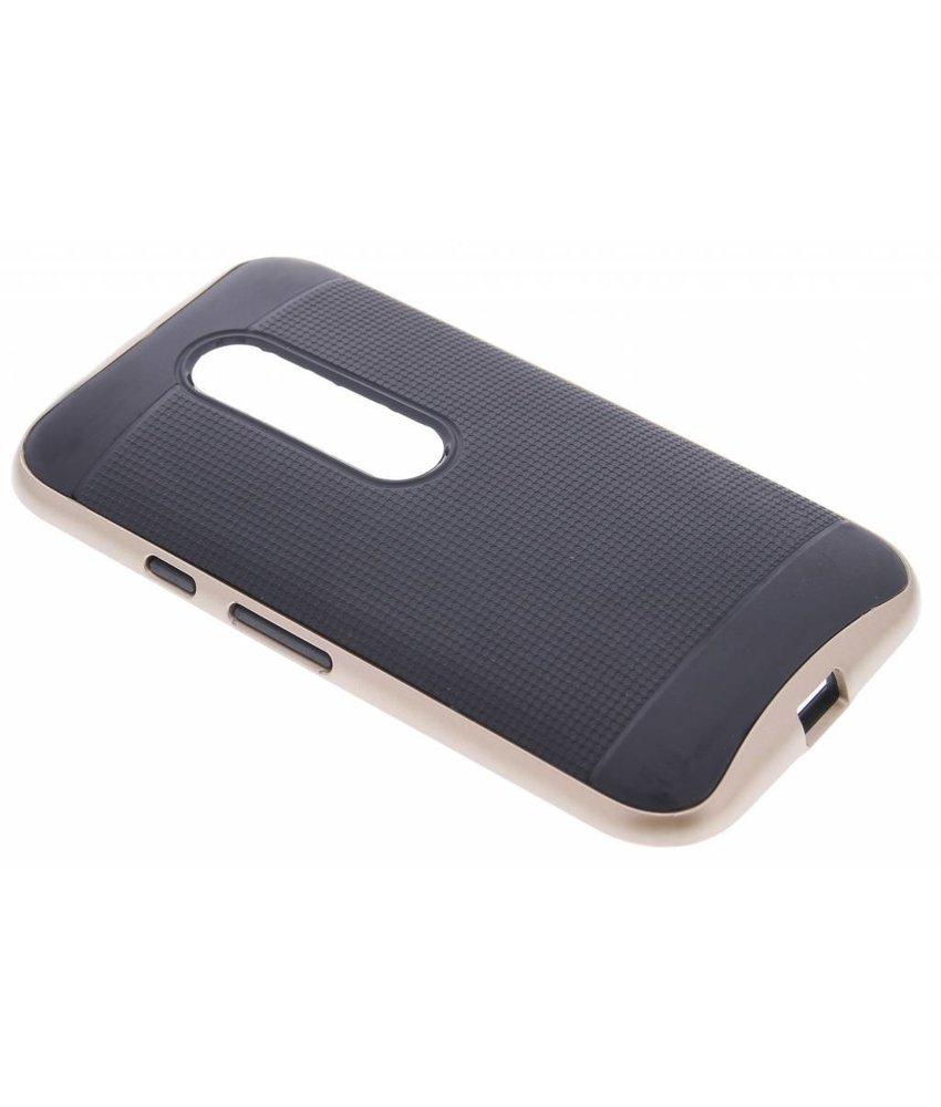 Goud TPU Protect case Motorola Moto G 3rd Gen 2015