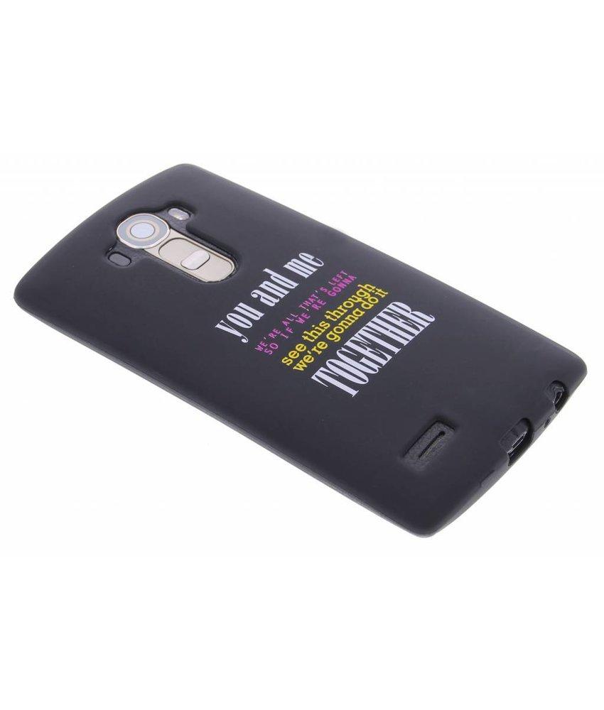 Glow in the dark TPU case LG G4