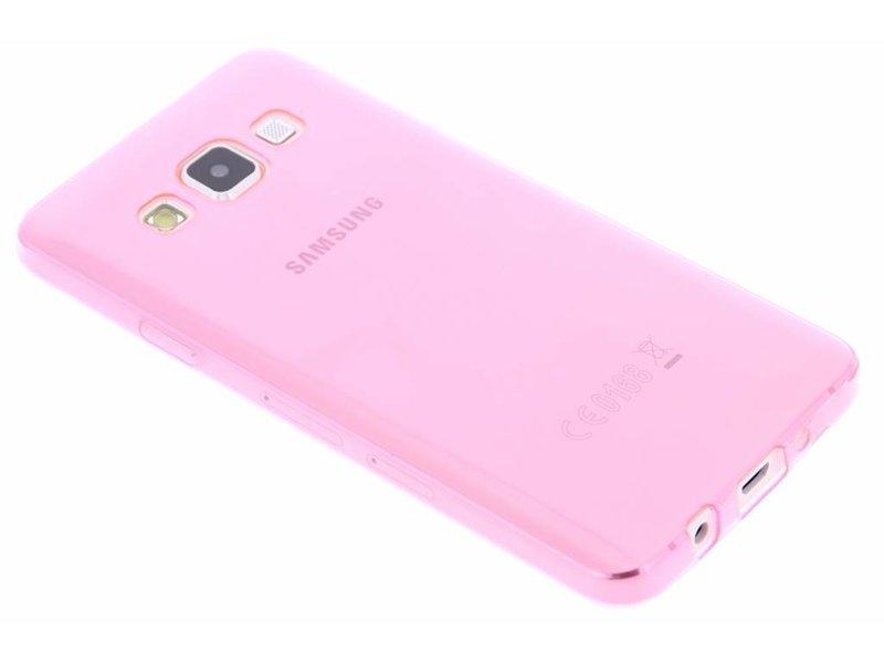 Ultramince Rose Coque Tpu Transparent Pour Samsung Galaxy A3 1xdam