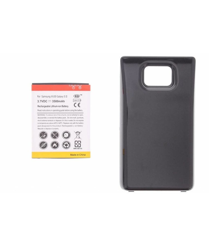 3500 mAh accu met backcover Galaxy S2 (Plus)
