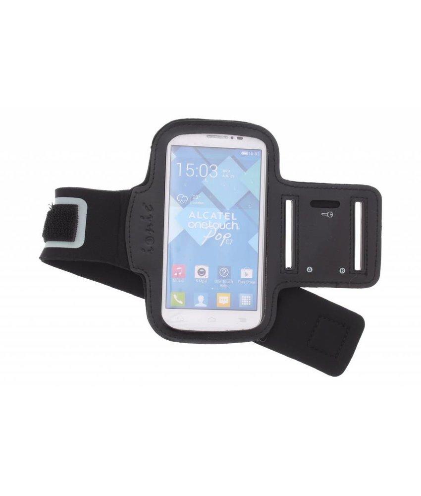 Zwart sportarmband Alcatel One Touch Pop C7