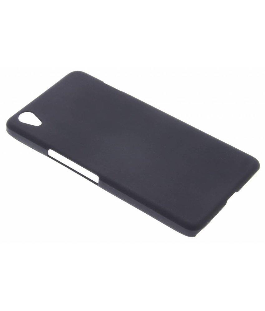 Zwart effen hardcase hoesje OnePlus X