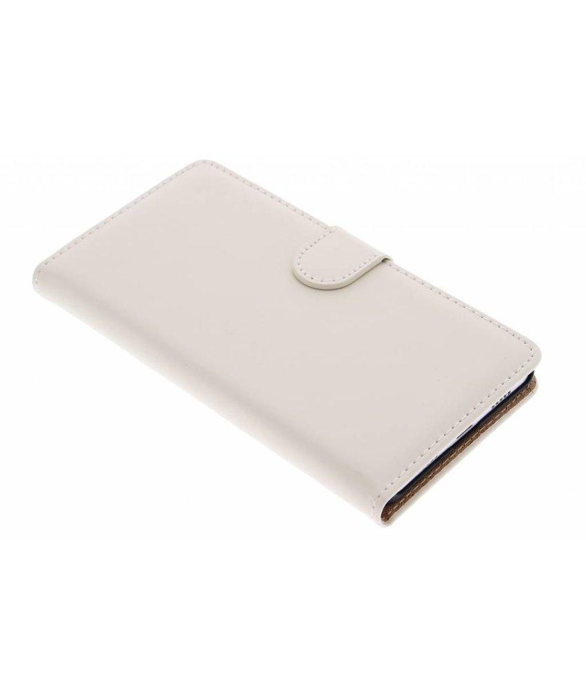 Selencia Luxe Book Case OnePlus X - Gebroken wit