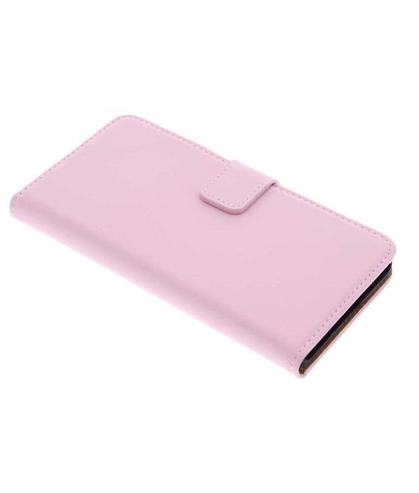 Selencia Luxe Book Case OnePlus X - Poederroze