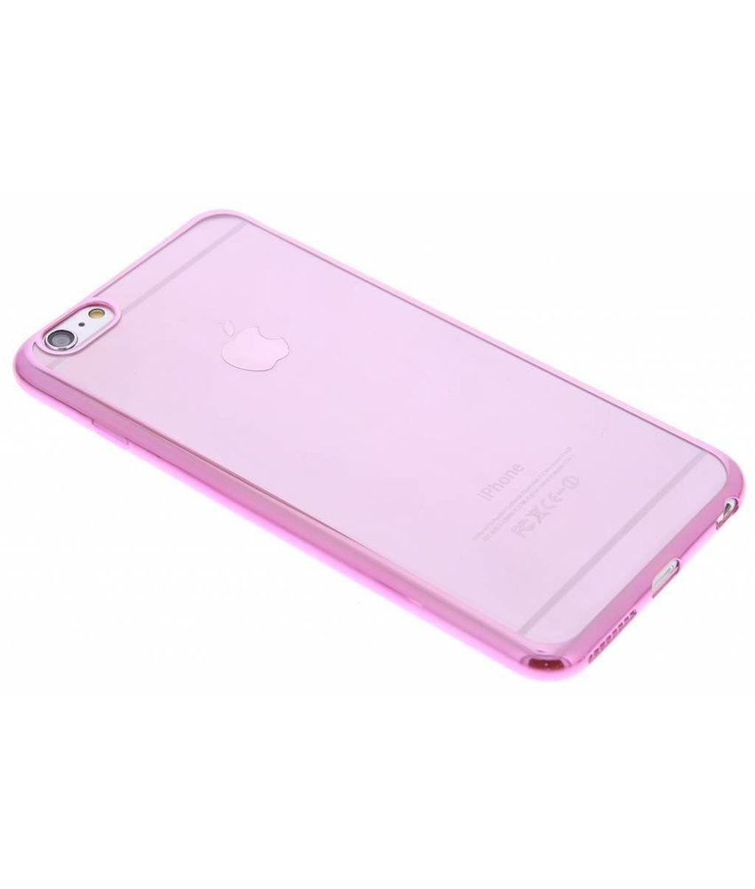 Transparant glamour TPU hoesje iPhone 6(s) Plus