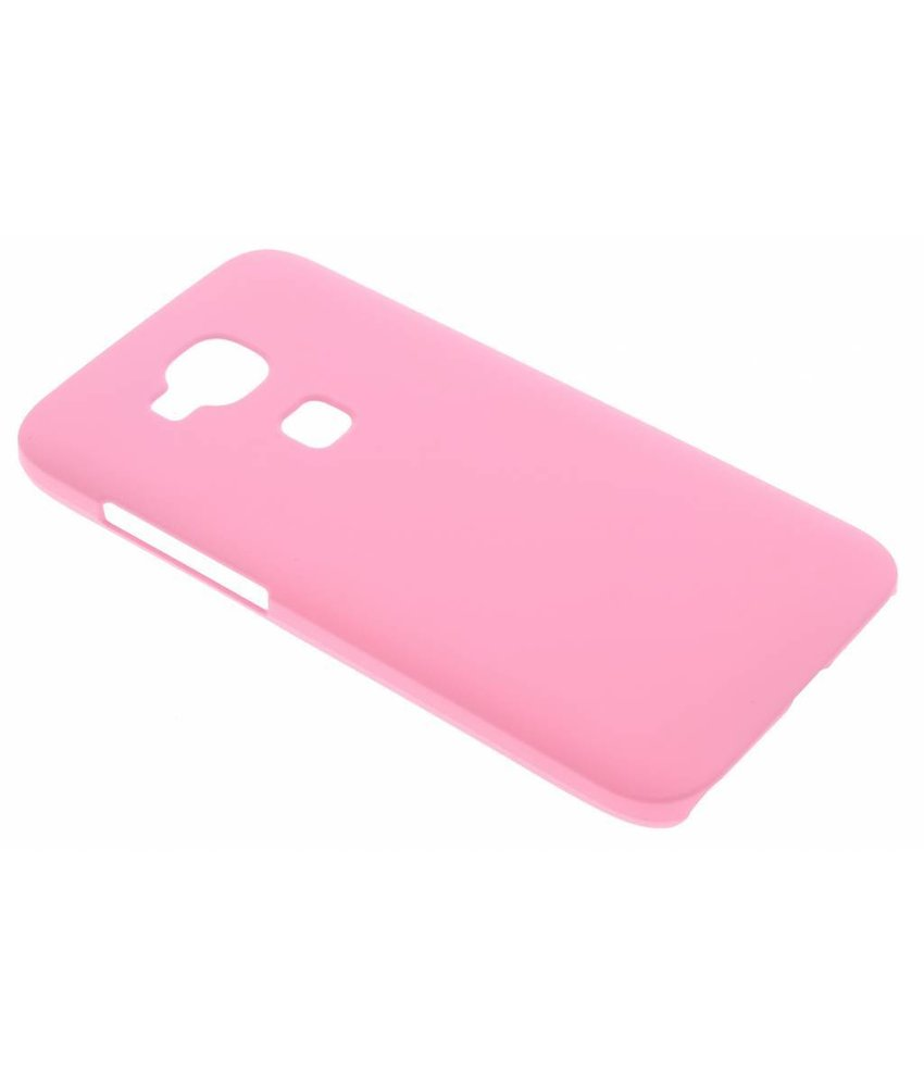 Roze effen hardcase hoesje Huawei G8