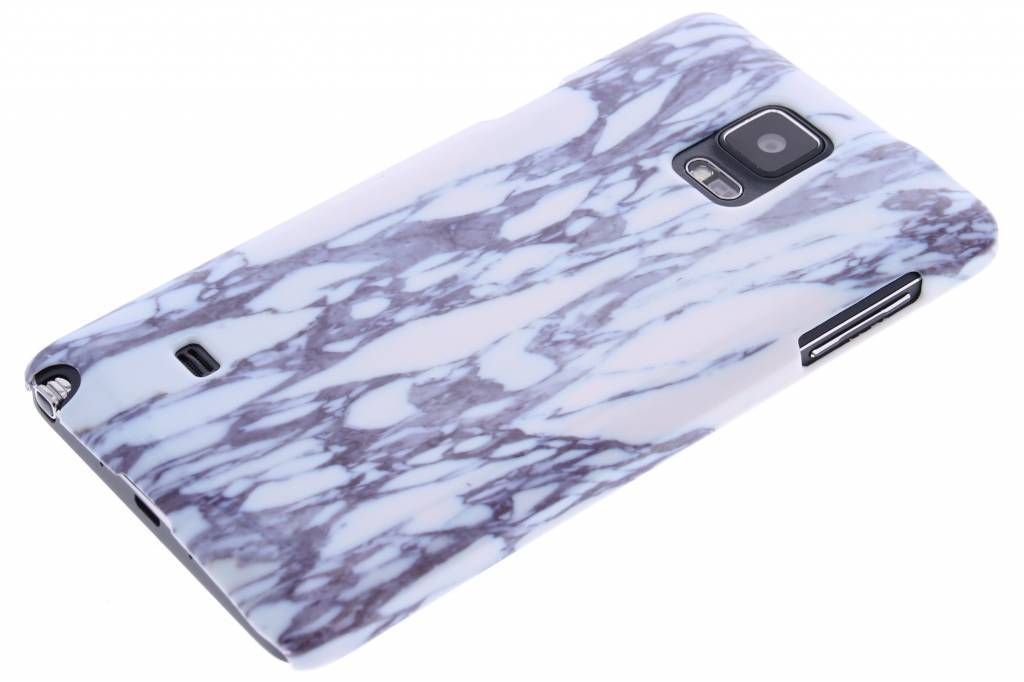 Marbre Bleu Cas Étui Rigide Pour Samsung Galaxy Note 4 7QcGBqdPv