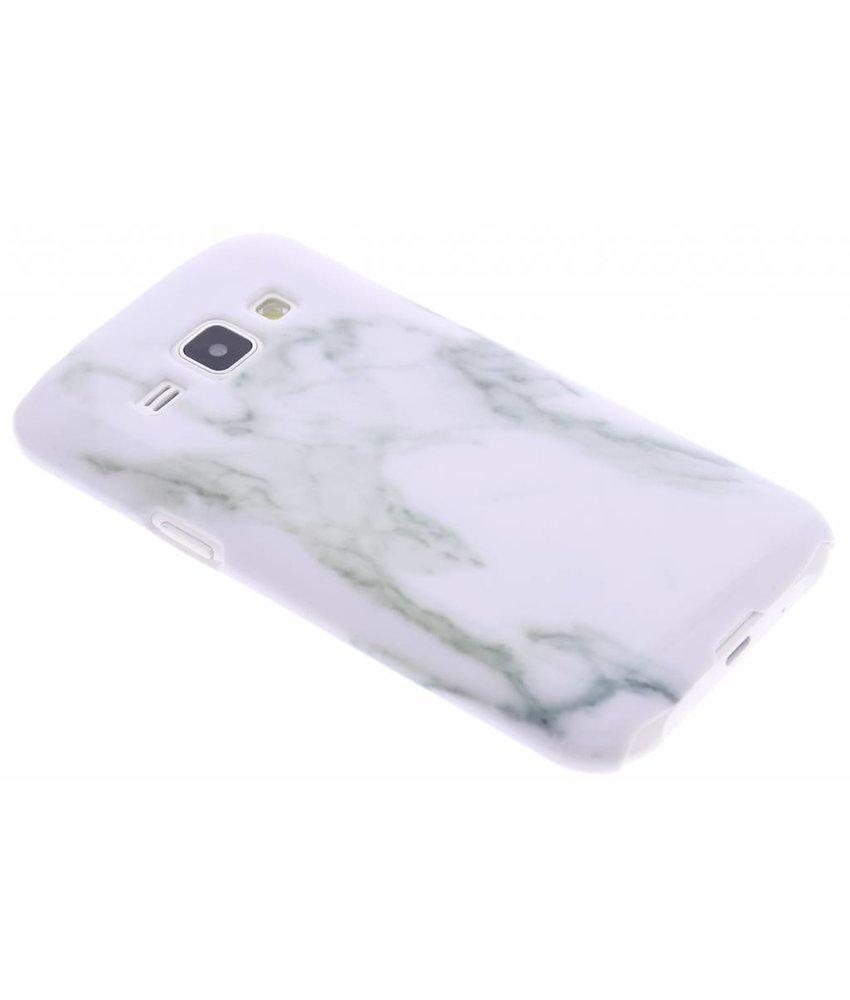 Wit marmer hardcase Samsung Galaxy J1