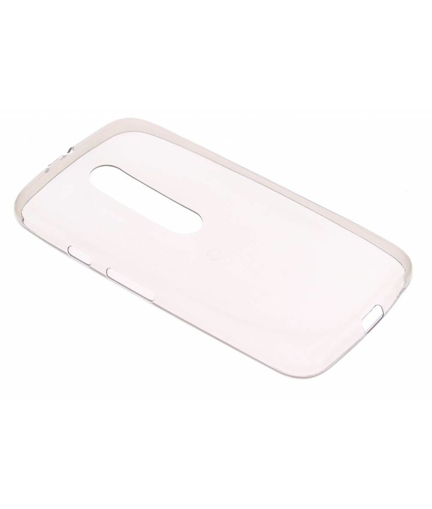Ultra thin transparant TPU Motorola Moto G 3rd Gen 2015