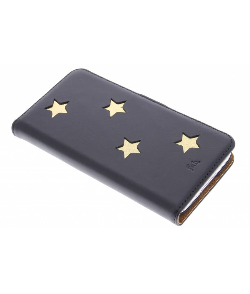 Fab. Gold Reversed Star Booktype Galaxy S5 (Plus) / Neo