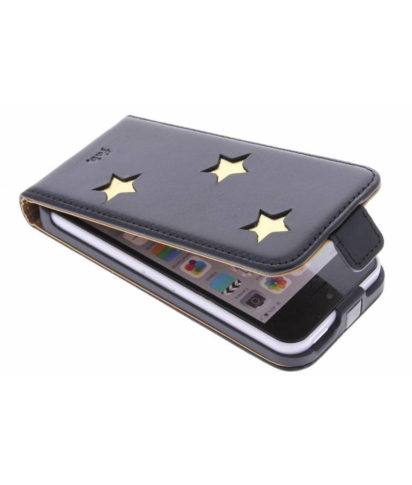 Fab. Gold Reversed Star Flipcase iPhone 5c