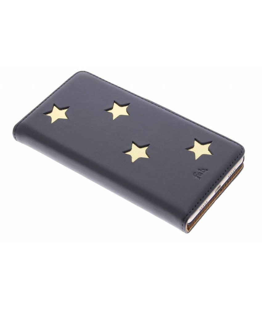 Fab. Gold Reversed Star Booktype Huawei P8 Lite